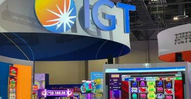 IGT booth at G2E 2021