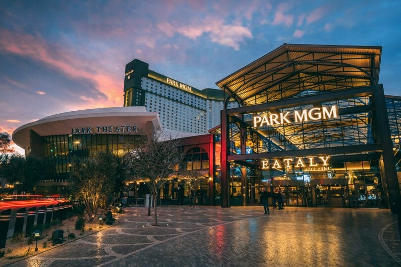 Park MGM and Nomad external
